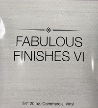 Fabulous Finishes VI