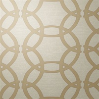 Abacus WC Light Beige Geometric Circles