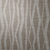 Abstract Antique Silver Vertical Stripe on Linen
