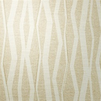 Abstract Breezy Beige Vertical Stripe on Linen