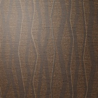 Abstract Mocha Vertical Stripe on Linen