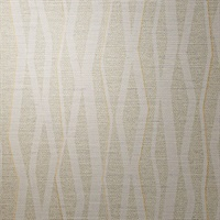 Abstract Pearled Vertical Stripe on Linen