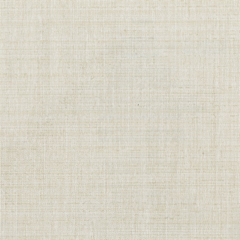 Alfie Beige Subtle Linen Wallpaper