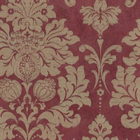 Axbridge Damask Red