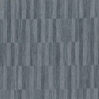 Barie Charcoal Vertical Tile Wallpaper