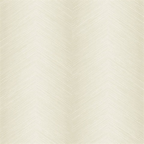 Beige Commercial Shibori Chevron Wallcovering