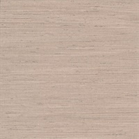 Chet Dark Beige Silk Linen Wallcovering