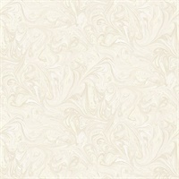 Cream & Ivory Commercial Sierra Marble Wallcovering