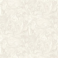 Daydream Gray & Pearl Commercial Sierra Marble Wallcovering