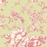 Floral and Bird