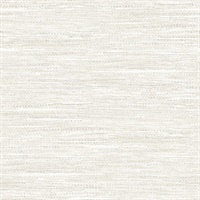Grey & White Commercial Weave Wallcovering