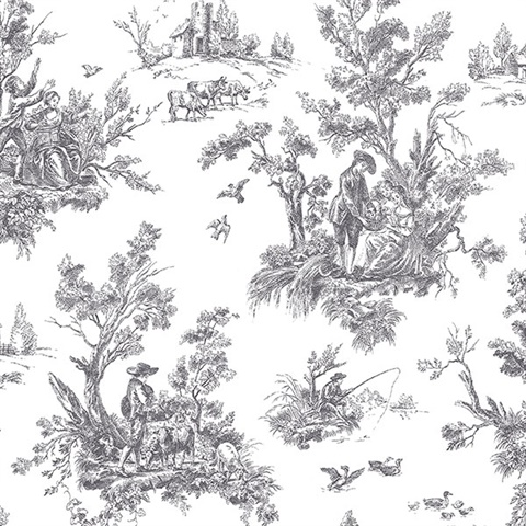 Irish Countryside Toile