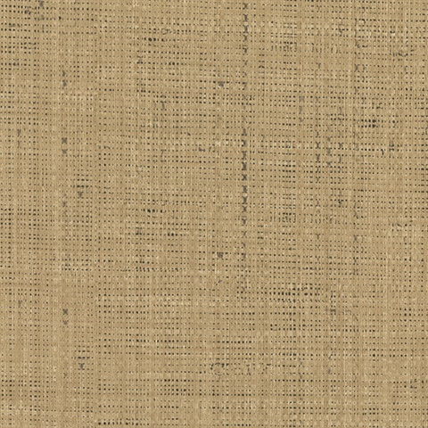 Jonus Honey Faux Grasscloth Wallpaper
