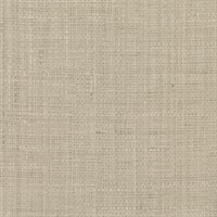 Jonus Taupe Faux Grasscloth Wallpaper