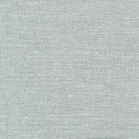 Parker Green Faux Linen Wallcovering