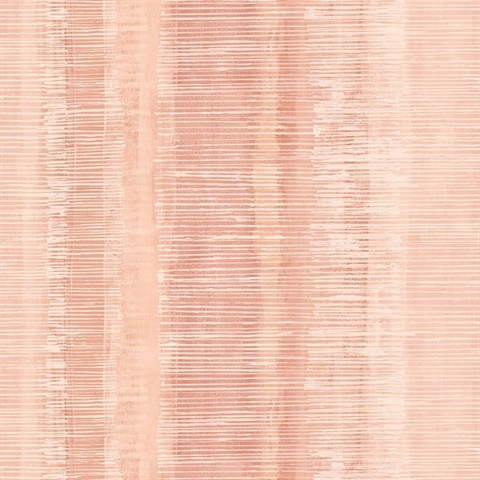 Pink Sunset Commercial Tiki Vertical Stripe Wallcovering