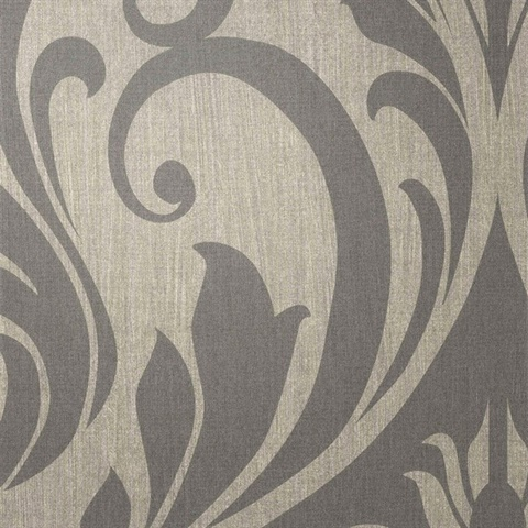 Rock 'N' Scroll Silverway to Heave Damask