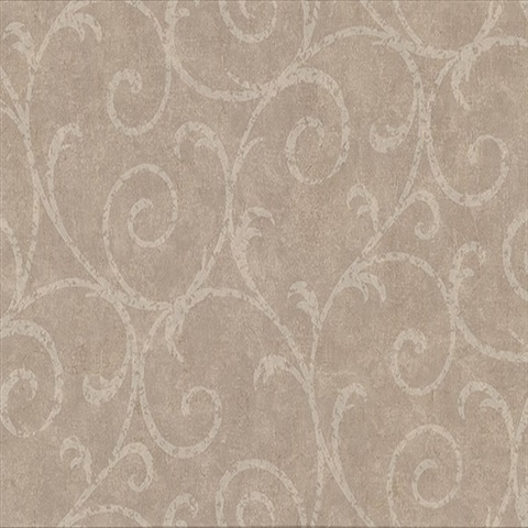 Sansa Light Brown Plaster Scroll