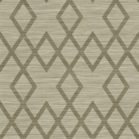 Vana Brown Woven Diamond